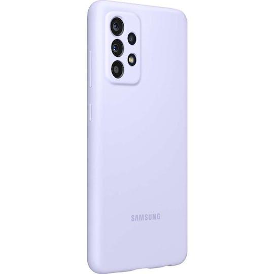Samsung Galaxy A52 Silicone Cover Violet