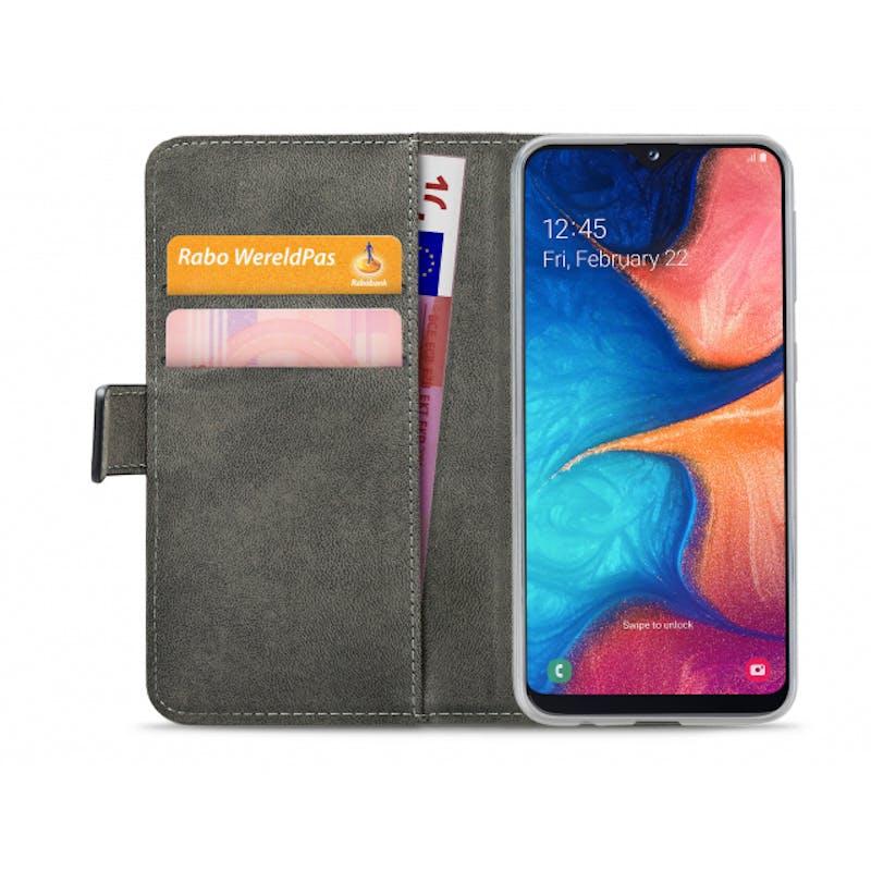 Mobilize Galaxy A20e Wallet Case Black