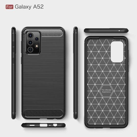 Just in Case Galaxy A52 Rugged Case Black