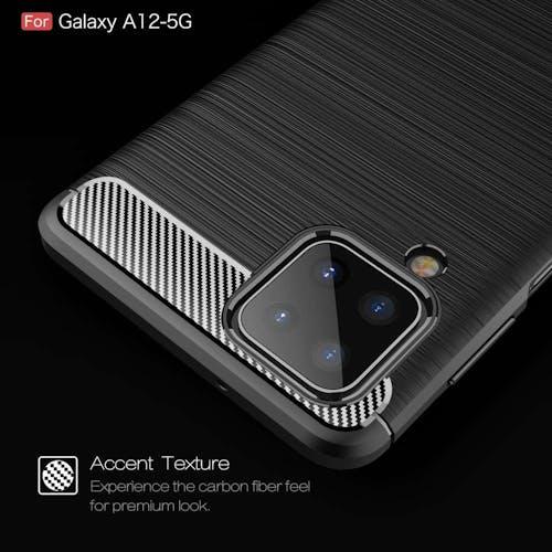 Just in Case Galaxy A12 Rugged Case Black