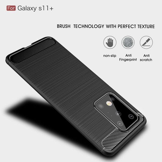 Just in Case Galaxy S20+ Rugged Case Black