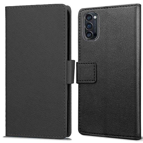 Just in Case OPPO Reno4 Wallet Case Black