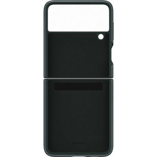 Samsung Galaxy Flip3 Leather Cover Green