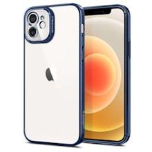 Spigen iPhone 12 (Pro) Optik Crystal Case Blue