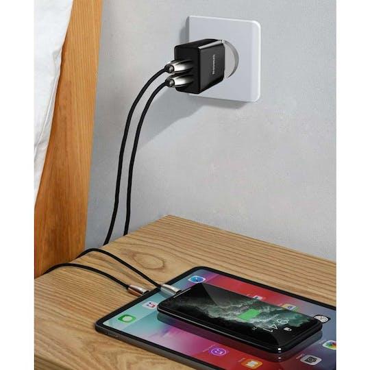 Baseus 10.5W Dual USB Charger
