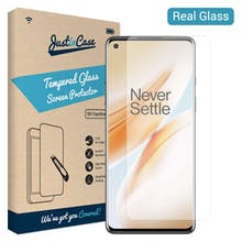 Just in Case OnePlus 8 Tempered Glass Screenprotector