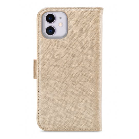 My Style iPhone 11 Wallet Case Gold
