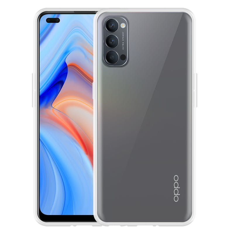 Just in Case OPPO Reno4 Pro TPU Case Clear