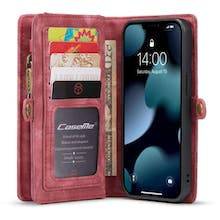 Caseme iPhone 13 Wallet Case All in One Red