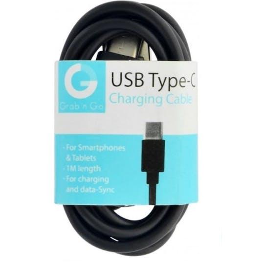 GNG Type C datakabel 1 meter black