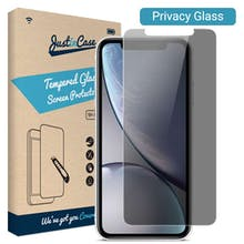 Just in Case iPhone 11 Privacy Tempered Glass Screenprotector