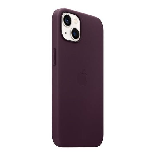 Apple iPhone 13 Leather MagSafe Case Dark Cherry