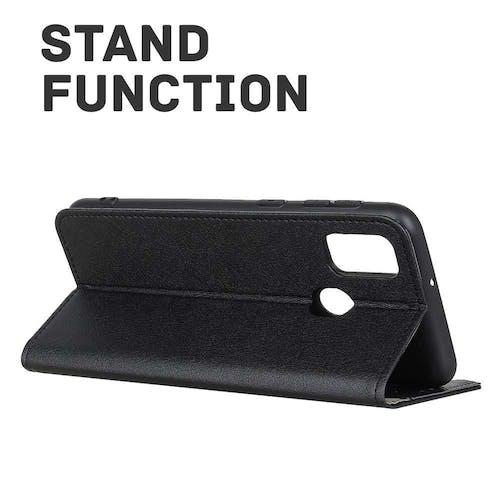 Just in Case OPPO A53(S) Wallet Case Black