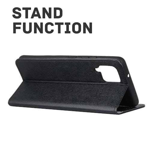 Just in Case Galaxy A12 Wallet Case Black