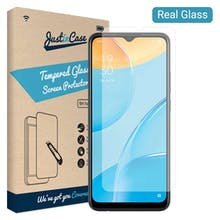Just in Case OPPO A15 Tempered Glass Screenprotector
