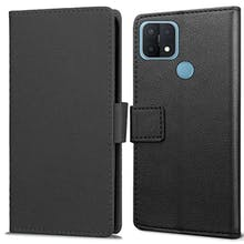 Just in Case OPPO A15 Wallet Case Black