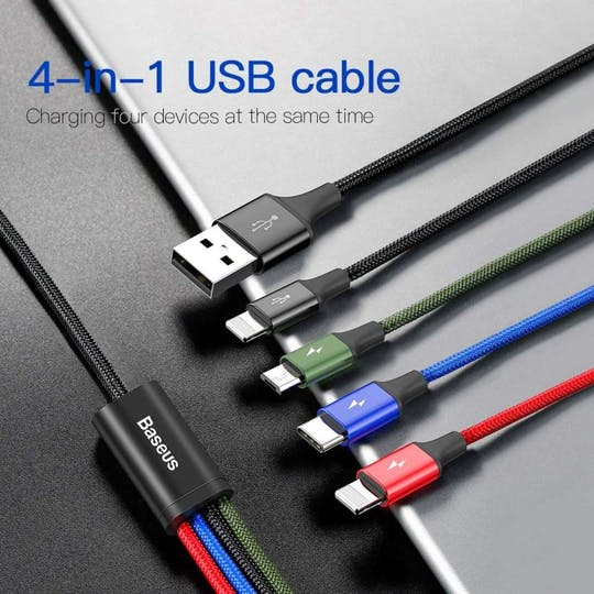 Baseus 4-in-1 Charging Cable