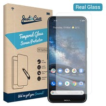 Just in Case Nokia 8.3 Tempered Glass Screenprotector