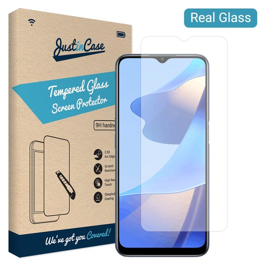 Just in Case OPPO A16s Tempered Glass Screenprotector