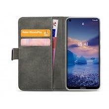 Mobilize Nokia 5.4 Wallet Case Black