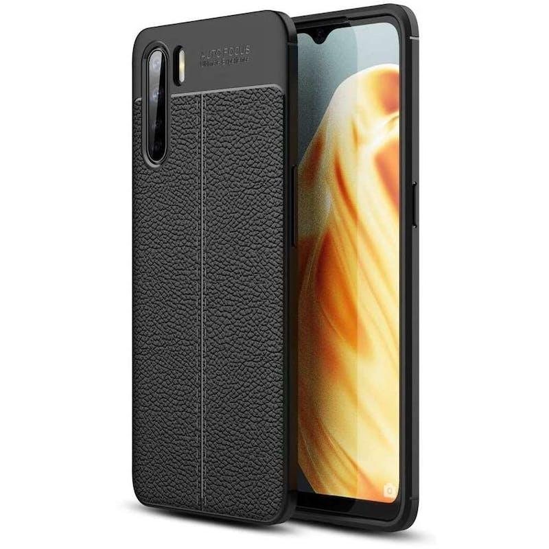 Just in Case OPPO A91 Gelly Case Black
