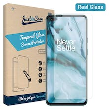 Just in Case OnePlus Nord Tempered Glass Screenprotector