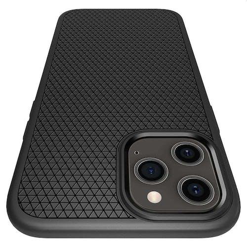 Spigen iPhone 12 (Pro) Liquid Air Case Black