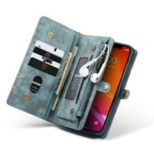 Caseme iPhone 12 Mini Wallet Case All in One Blue Green