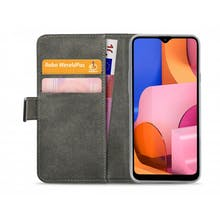 Mobilize Galaxy A20s Wallet Case Black