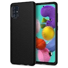 Spigen Galaxy A51 Liquid Air Case Black
