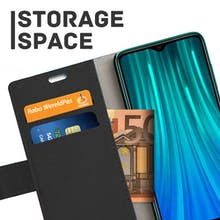 Just in Case Redmi Note 8 Pro Wallet Case Black