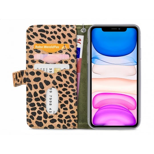 Mobilize iPhone 11 All in One Wallet Case Leopard