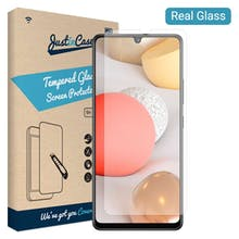 Just in Case Galaxy A42 Tempered Glass Screenprotector