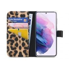 My Style Galaxy S21 Wallet Case Leopard