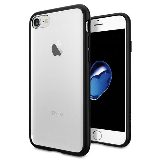 Spigen iPhone 7/8/SE Ultra Hybrid Case Black