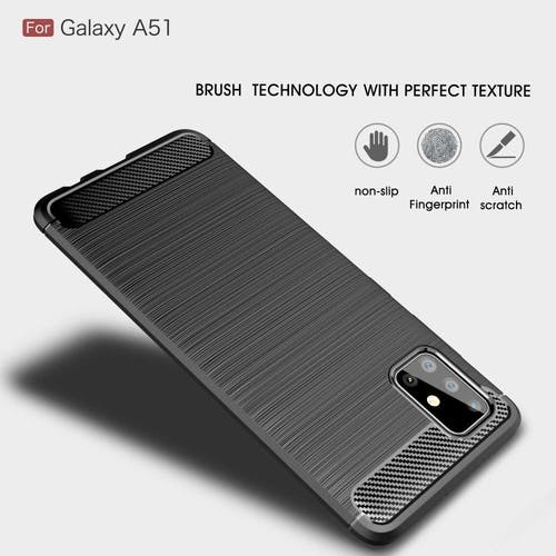 Just in Case Galaxy A51 Rugged Case Black
