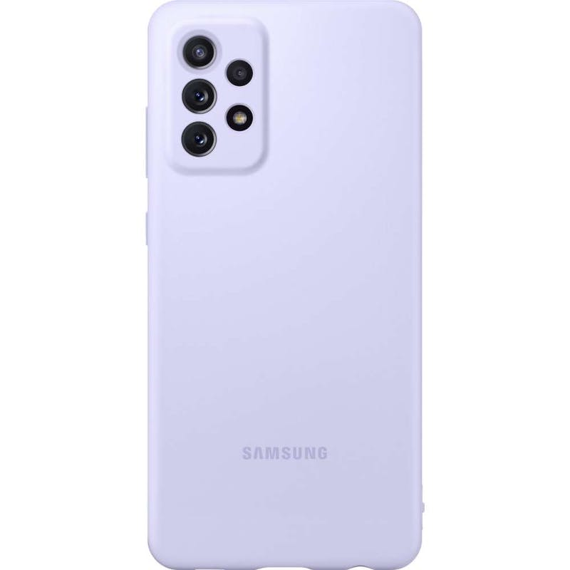 Samsung Galaxy A72 Silicone Cover Violet