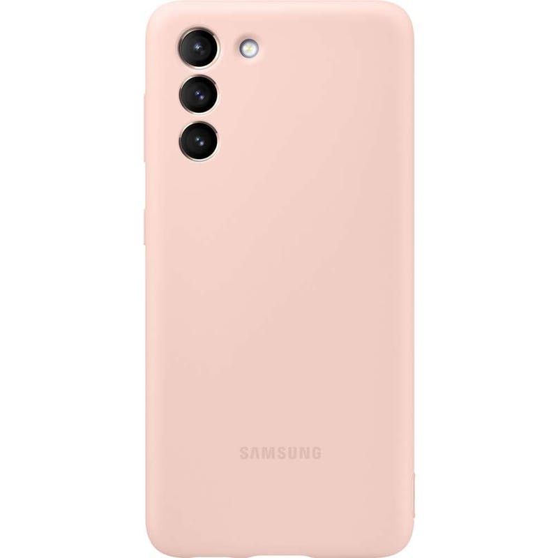 Samsung Galaxy S21 Silicone Cover Pink