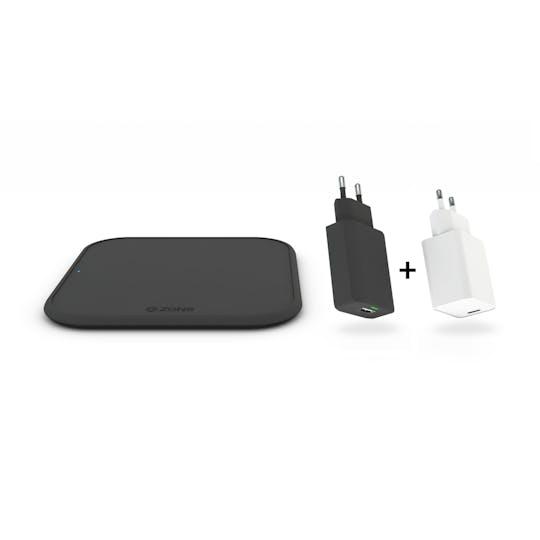 Zens iPhone Starterpack + 18W USB-C Adapter