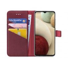 My Style Galaxy A12 Wallet Case Bordeaux
