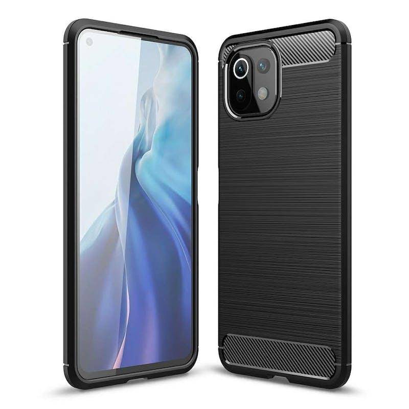 Just in Case Xiaomi Mi 11 Lite/Mi 11 Lite 5G Rugged Case Black