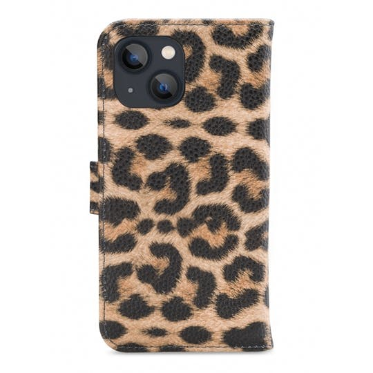 My Style iPhone 13 Wallet Case Leopard