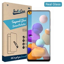 Just in Case Galaxy A21s Tempered Glass Screenprotector