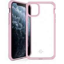 ITSKINS iPhone 11 Pro Transparant Pink Case