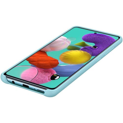 Samsung Galaxy A51 Silicone Cover Blue