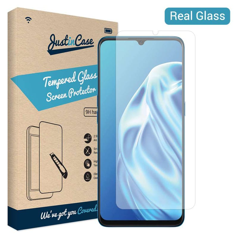 Just in Case OPPO A91 Glass Screenprotector