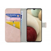 My Style Galaxy A12 Wallet Case Pink