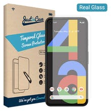 Just in Case Google Pixel 4a Tempered Glass Screenprotector