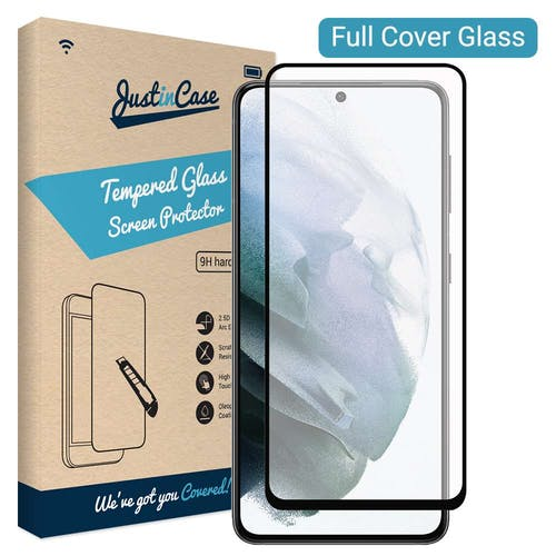 Just in Case Galaxy S21 Tempered Glass Screenprotector