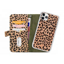 Mobilize iPhone 11 Pro All in One Wallet Case Olive Leopard
